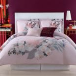 Christian Siriano Dreamy Floral Duvet Cover Set