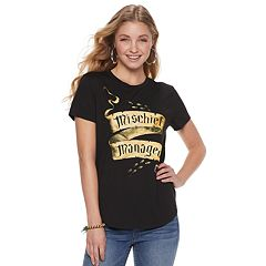 d59278b39 Juniors' Harry Potter 'Mischief Managed' Graphic Tee