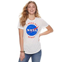 Juniors' 'I Need My Space' NASA Graphic Tee