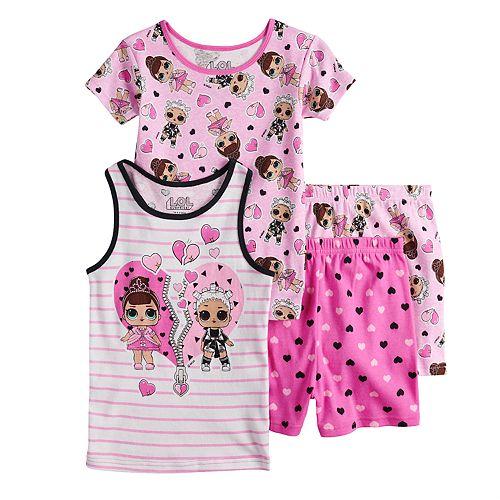 Girls 6-10 L.O.L. Surprise! Tops & Bottoms Pajama Set