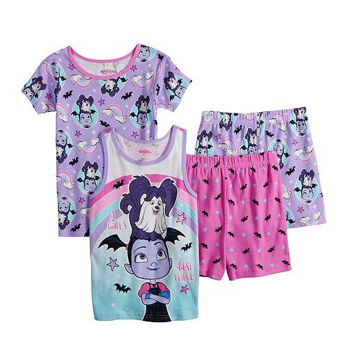 Disney's Vampirina Girls 4-10 Tops & Shorts Pajama Set