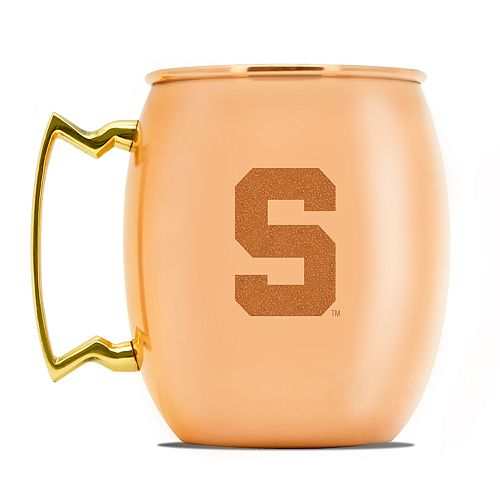 Michigan State Spartans Copper Moscow Mule Mug