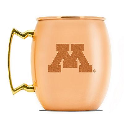 Minnesota Golden Gophers Copper Moscow Mule Mug