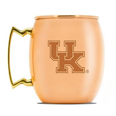 Kentucky Wildcats Copper Moscow Mule Mug