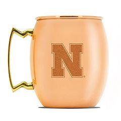 Nebraska Cornhuskers Copper Moscow Mule Mug