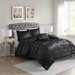 Madison Park Shelby Silky Satin Comforter Set
