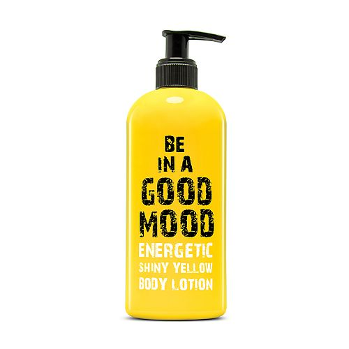 BE IN A GOOD MOOD Energetic Shiny Yellow Body Lotion