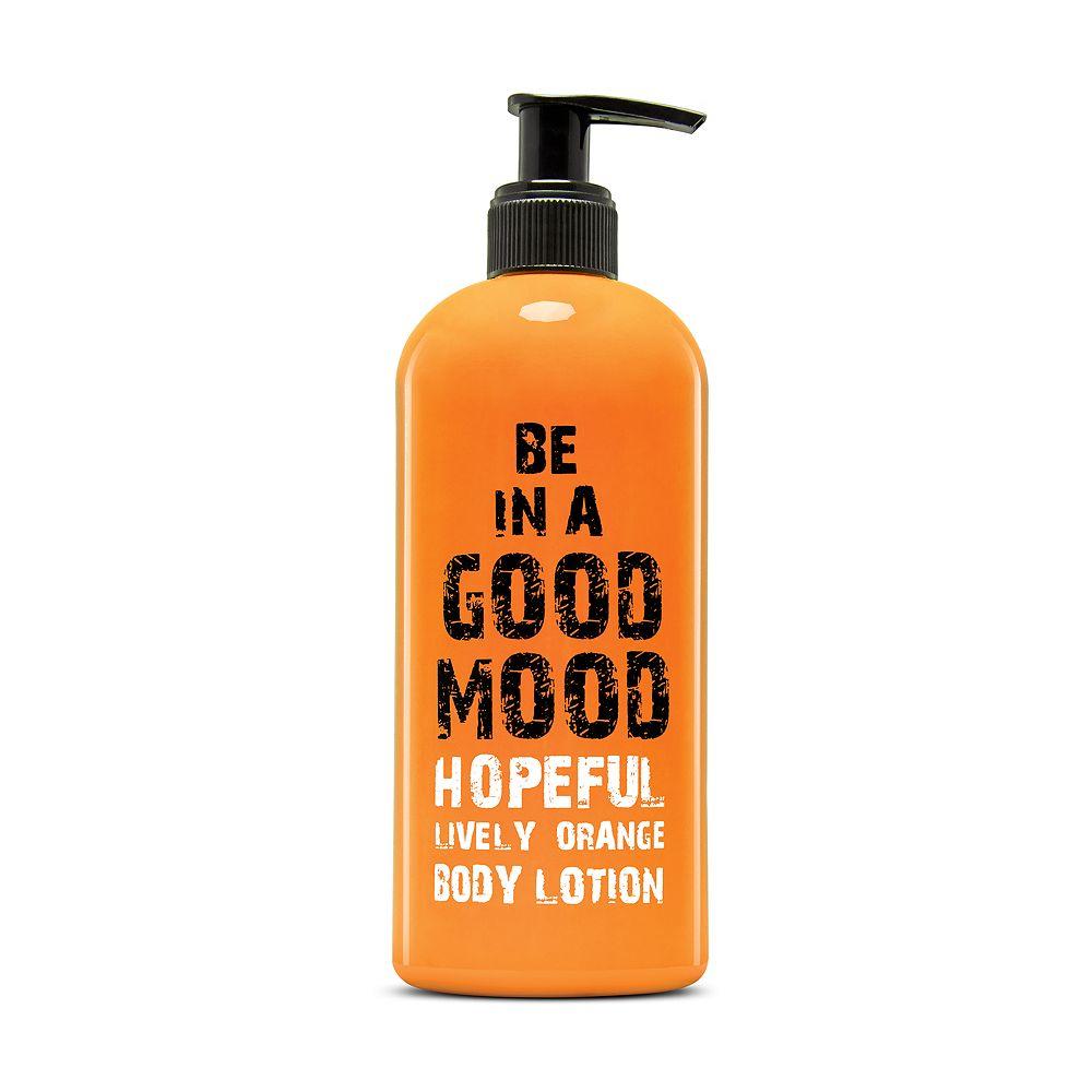 BE IN A GOOD MOOD Hopeful Lively Orange Body Lotion