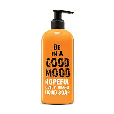 BE IN A GOOD MOOD Hopeful Lively Orange Liquid Soap