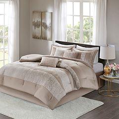Madison Park 7-piece Elicia Chenille Jacquard Comforter Set