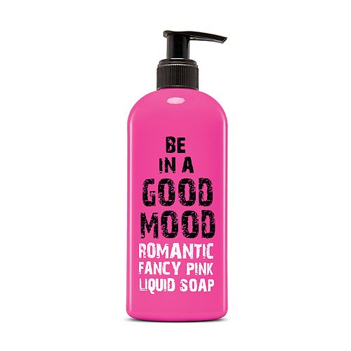 BE IN A GOOD MOOD Romantic Fancy Pink Liquid Soap