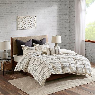 INK+IVY Rhea Cotton Jacquard Comforter Set