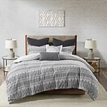 INK + IVY Rhea Cotton Jacquard Comforter Set