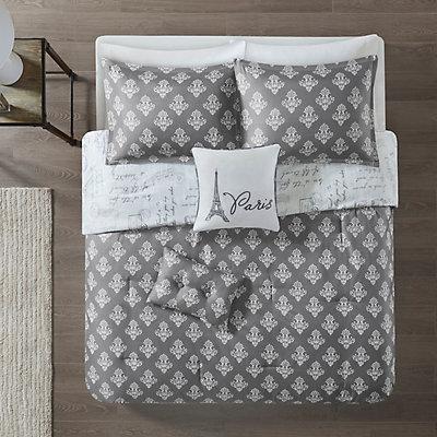 510 Design Mariam 5-piece Reversible Paris Comforter Set