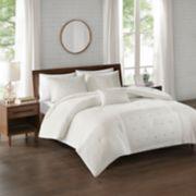 510 Design Nadean 4-piece Dot Embroidered Comforter Set