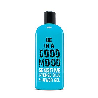 BE IN A GOOD MOOD Intense Blue Sensitive Skin Shower Gel