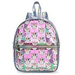 OMG Accessories Iridescent Rainbow Unicorn Mini Backpack