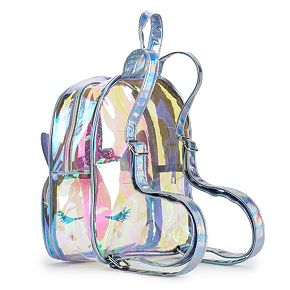 OMG Accessories Glitter Unicorn Iridescent Mini Backpack