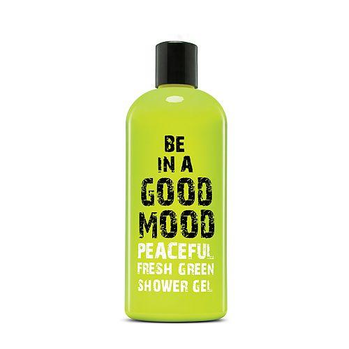 BE IN A GOOD MOOD Peaceful Fresh Green Shower Gel