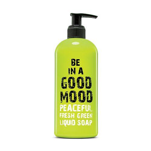 BE IN A GOOD MOOD Peaceful Fresh Green Liquid Soap