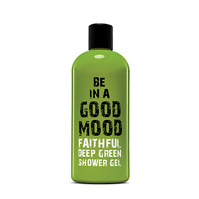 BE IN A GOOD MOOD Faithful Deep Green Shower Gel