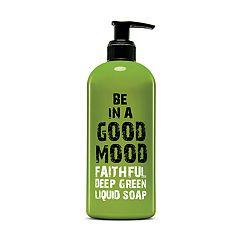 BE IN A GOOD MOOD Faithful Deep Green Liquid Soap