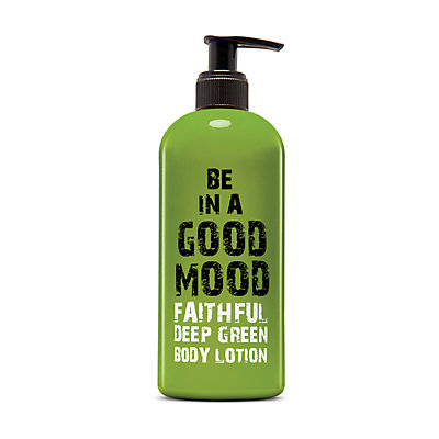 BE IN A GOOD MOOD Faithful Deep Green Body Lotion