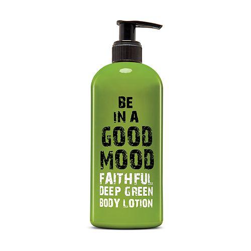BE IN A GOOD MOOD Faithful Deep Green Body Lotion