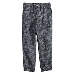 Boys 4-12 Jumping Beans® Camouflaged Jogger Pants