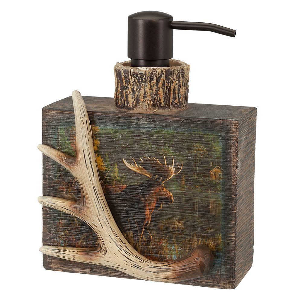 Hautman Brothers Back Bay Moose Soap Pump