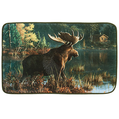 Hautman Brothers Back Bay Moose Rug