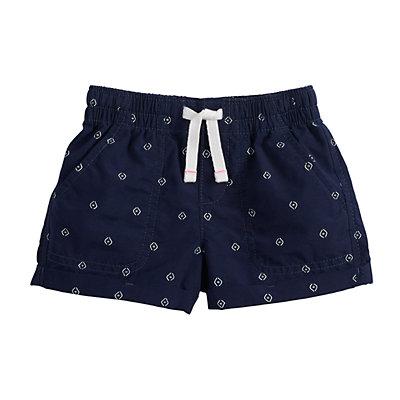Girls 4-12 Jumping Beans® Printed Roll-Cuff Shorts