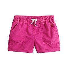 Girls 4-12 Jumping Beans® Roll-Cuff Shorts