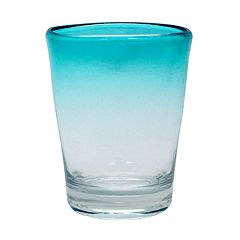 Food Network™ Turquoise Ombre Acrylic Double Old-Fashioned Glass