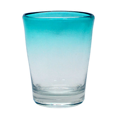 Food Network? Turquoise Ombre Acrylic Double Old-Fashioned Glass
