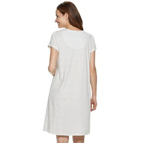 Women's Croft & Barrow® Pintuck Nightgown
