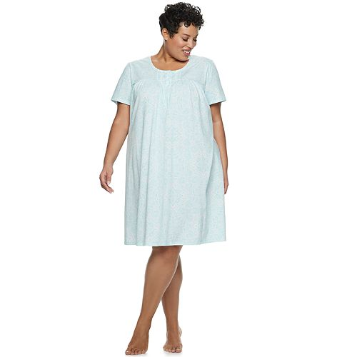 Plus Size Croft & Barrow® Short Sleeve Nightgown