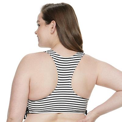 Summertime Stripe Swimsuit Top