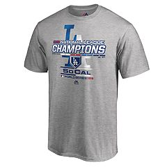 Men's Los Angeles Dodgers 2018 National League Champions Locker Room Tee