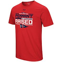 Men's Under Armour Boston Red Sox 2018 AL Champions Pennant Raised Tee