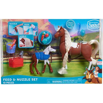 Just Play DreamWorks Spirit Feed & Nuzzle Horses