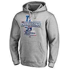 Men's Los Angeles Dodgers 2018 National League Champions Locker Room Hoodie
