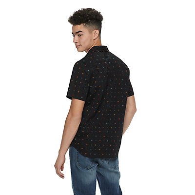 Men's Vand Button-Down Print Shirt