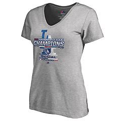 Women's Los Angeles Dodgers 2018 National League Champions Locker Room Tee
