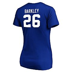 Women's New York Giants Saquon Barkley Fair Catch Tee