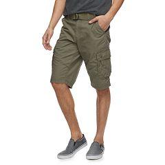Men's Urban Pipeline Belted Messenger Shorts