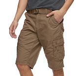 Men's Urban Pipeline Belted Messenger Shorts