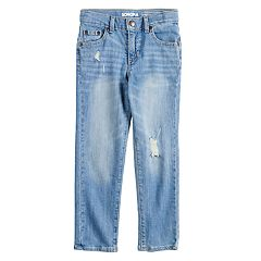 Boys 4-12 SONOMA Goods for Life™ Distressed Ripped Straight Jeans
