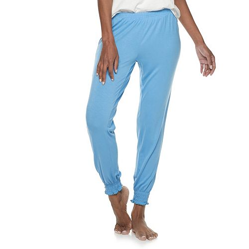 Women's SONOMA Goods for Life® Smocked-Hem Sleep Pants