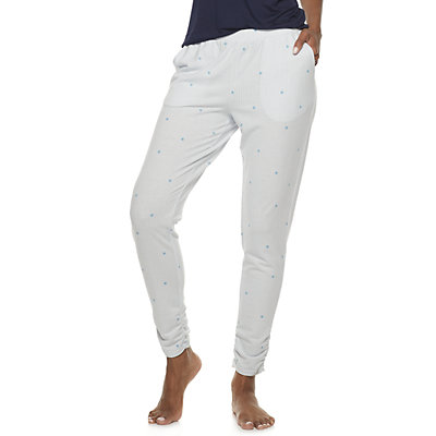 Women's SONOMA Goods for Life? Ruched Hem Sleep Pants
